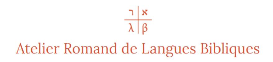 Atelier Romand de Langues Bibliques